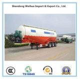De 55cbm 70t del cemento del petrolero acoplado durable semi