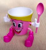 Neue Art personifiziertes SGS-Bescheinigungs-Plastikeiscreme-Cup (IC002)