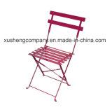 表のColboltの正方形椅子とセットされる金属2のSeaterのビストロでアイロンをかけなさい