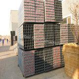 Schnelle zusammengebaute vorfabrizierte Stahlhäuser für Verkauf