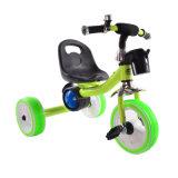 Triciclo do pedal para miúdos com as 3 rodas leves de Filashing