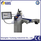 máquina Cycjet de la marca del laser de la fibra del tubo del PVC 20W