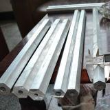 Tubo de aluminio hexagonal 6063