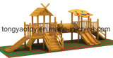 2014 campo da giuoco esterno di legno (TY-70621)