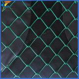 9つのゲージのダイヤモンドPVC上塗を施してあるチェーン・リンクの金網