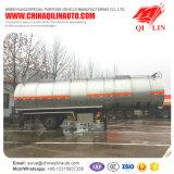 трейлер нефтяного танкера 40cbm для нагрузки растворяющей нафты