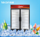 Showcase Two-Door refrigerado a ar de Lecon