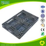 Palete de plástico de cor cinza 1200 * 800 * 135 mm material HDPE de alta qualidade