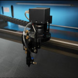 Laser-Stich des Foto-3D und Ausschnitt-Maschinen-Minilaser-Maschine Jieda