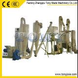 A melhor garantia de venda 3-4T/H do CE termina a planta de madeira da pelota