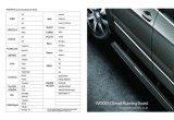 para a etapa lateral elétrica de placa Running de Honda CRV/pedal/peças de automóvel/auto acessório