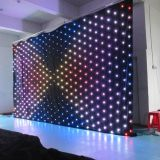 LED Vision Curtain RGB in Disco Stage