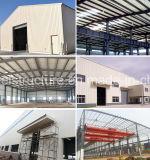 Edificio industrial estructural de acero de la fábrica con el espacio grande