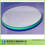 vidro Tempered redondo do melhor preço de 10mm para a iluminação