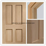 Porte intérieure, porte en bois solide, porte en bois d'épreuve d'incendie avec la bonne qualité
