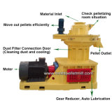 高品質Ring Die Wood Pellet Mill Make Wood Pellets