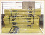 El acero ajustable de la orilla del poste Q235 apoya el apoyo del andamio