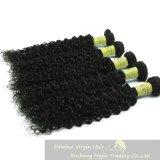 卸し売り毛の束の自然な毛のペルーの毛