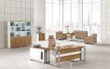 販売の現代事務机の木の机