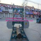Máquina horizontal portátil do moinho da serra de fita da eficiência elevada para a venda