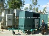 Automatic Vacuum Oil Transformer reciclagem de óleo de regeneração de óleos Filtration purificação de óleo de processamento de petróleo Plantas com Trailer