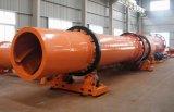 máquina rotatoria del secador de tambor del flujo del aire caliente 3t/H de los 2.4*25m