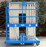 hydraulische Luftarbeit-Aufzug-Aluminiumplattform des Mast-10meters (GTWY10-200S)