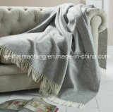 100%Pure Virgin Wool Throw (NMQ-WTB029)