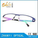Стекел Eyeglass Eyewear способа рамка Semi-Rimless Titanium оптически (8206)