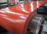 (0.14mm-1.0mm) A bobina de aço Prepainted/cor revestiu a bobina de aço para a telhadura