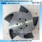 Bâti de précision/turbine de pompe de Durco moulage de précision