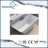 浴室の正方形のアクリルの支えがない浴槽(AB1508W)