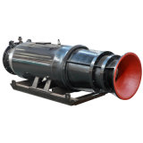 Tipo bomba da maneira do guia de Sledged de fluxo axial submergível para o controle de inundação