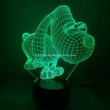 Свет иллюзиона СИД Spider-Man 3D светильника ночи высокого качества 3D СИД декоративный от поставщика Китая