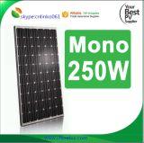 Het goedkope Monocrystalline Zonnepaneel van Pakistan van de Prijs van het Zonnepaneel 250W