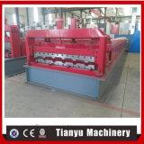 Rolo ajustável automático do aço inoxidável que dá forma à máquina para painel ondulado