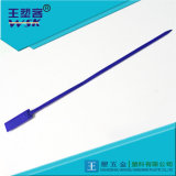 Selo mecânico da segurança plástica do azul de Guangzhou 400mm para os recipientes e as amostras Wsk-Bw400g