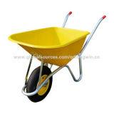 Carrinho de mão de roda poli Wb8614-C-#7429 do jardim da bandeja da paisagem