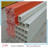 fibra de vidrio 10m m sólida poste Rod, tubo rectangular de 6m m de FRP GRP