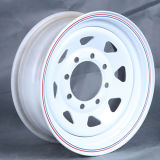 Roda da liga para o pneu de carro, borda 7jx15 da roda