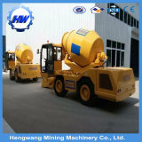 Fabricant 3.5 Cbm Diesel Mobile Self Loading Béton Mixer Truck