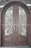 Serviço & qualidade nas melhores portas de entrada da parte dianteira do metal do preço