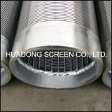ステンレス鋼水十分スクリーンの管またはジョンソンのウェッジワイヤーScreen/Ss316L精密ジョンソンスクリーン