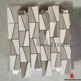 Opgepoetste Houten Marmeren Mozaïeken voor de Decoratie van de Muur en van de Vloer