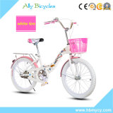 """16 """" variabler Geschwindigkeits-Kind-Fahrrad-Kohlenstoff-Rahmen, der allgemeines Fahrrad faltet"""