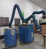 De draagbare Twee Wapens die van de Zuiging de Collector van de Extractie van de Rook lassen