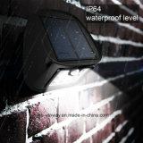 Indicatori luminosi solari esterni impermeabili della parete 10LED con i 3 modi