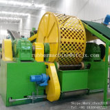 セリウムISO9001 SGSが付いている生産機械タイヤの粉砕機機械をリサイクルする高い自動無駄か使用されたタイヤ