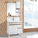 Vanité de salle de bains en bois solide d'étage de prix concurrentiel