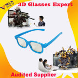 Preiswerteres Customized Double Thick ABS Frames Kid Passive Circualr Polarized 3D Glasses